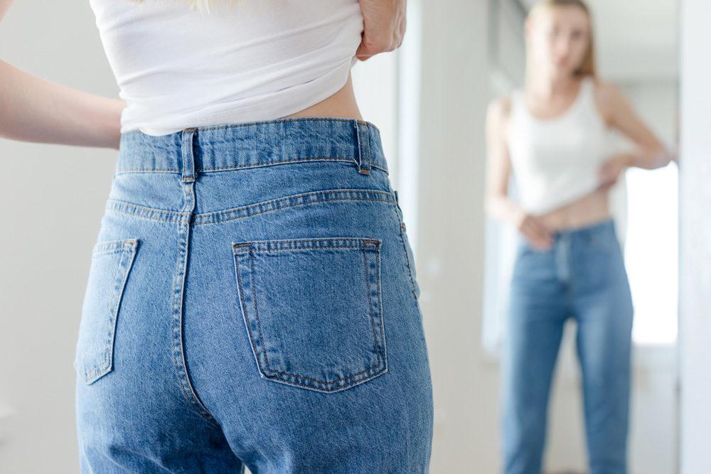 体の変化に悩む女性
