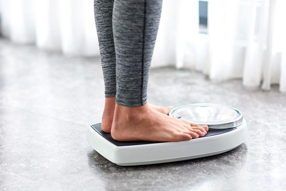 体重を気にする
